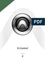 Console ICON D-Control_Guide