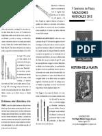 Historia Del a Flauta
