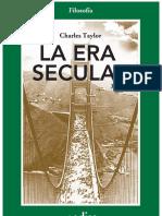 Taylor, Charles - La Era Secular Tomo I