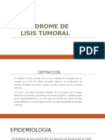 Sindrome de lisis tumoral.pptx
