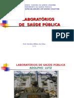LABORATÓRIOS DE SAÚDE PÚBLICA..ppt