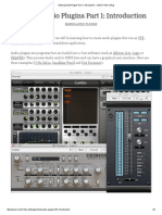 Making Audio Plugins Part 1_ Introduction - Martin Finke's Blog