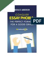 Conquer Essay Phobia