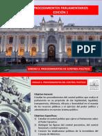 Procedimientos Parlamentarios Ed1 Unidad 3 Control Lectura