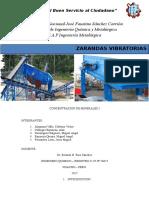 ZARANDAS VIBRATORIAS