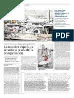 La náutica española se sube a la ola de la recuperación