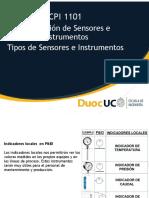 5.1 Tipo de Sensores e Instrumentos