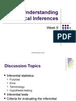 Understanding Statistical Inferences