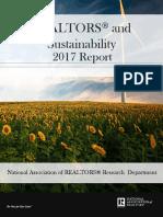 2017 Realtors and Sustainability 04-13-2017