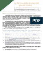 Pediatria - Aula 04 - Doença Do Refluxo Gastroesofagiano
