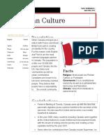 cultural handout