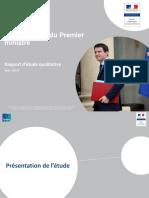 Bilan d'image du Premier ministre - 2014