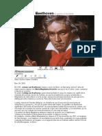 Ludwig Van Beethoven El Genio Invencible