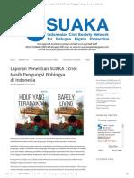 Laporan Penelitian SUAKA 2016_ Nasib Pengungsi Rohingya Di Indonesia _ Suaka