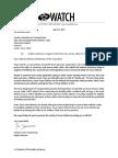 Texas Watch Written Testimony in Favor of SB 693