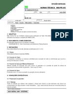 Wmpr395- Teste Hidrostático