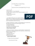 lotf in-class essay ch  1-4