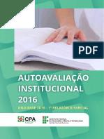 1o Relatrio Parcial 2016 CPA 1