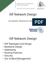 ISP Network Design