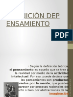 DEFINICIÓN DEPENSAMIENTO (1)