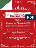 Thermomix - Taller Dulces de Navidad 2016