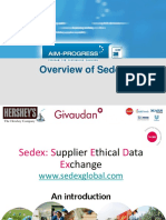 Overview of Sedex