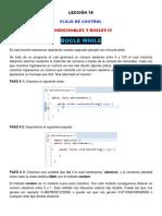 Lección 19 (Bucle While, 2do Ejemplo, Método Random de La Clase Math)