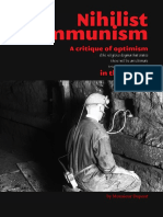 Nihilist Communism - A Critique of Optimism in the Far Left