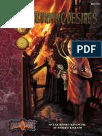 Earthdawn Burning Desires