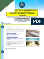 Presentación PPT - Análisis Comparado y Comentado Del DL Nº 1252 Que Crea El Sistema Nacional de Programación Multianual y Gestión de Inversiones