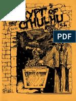 Crypt of Cthulhu 52 1987.Cryptic CosmicJukebox