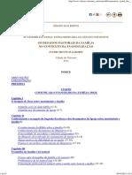 Instrumentum Laboris - Sínodo Extraordinário Família 2014
