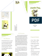 panda pals brochure