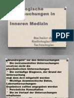 RadiologischeUntersuchungen in DerInneren Medizin