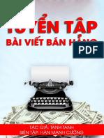 Tuyen Tap Nhung Bai Viet PR Ban Hang Hay