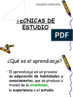 Tecnicas de Estudio Power Belen
