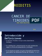 1. Tiroiditis - Cancer de Tiroides Clase