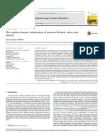 Hublin 2015 the modern human colonization of eurasia.pdf