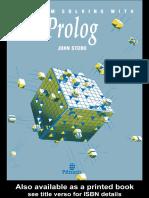 Problem Solving With Prolog - Chapter 3 (John Stobo)