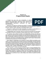 Manifesto Projeto Brasil Versão Final