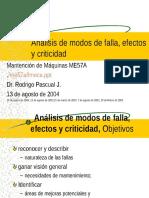 Analisis de Modos de Falla,Efectos y Criticidad Fmeca