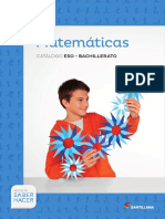 ESO y Bachillerato Matematicas