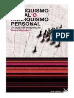 Bookchin, M. - Anarquismo Social o Anarquismo Individual. Un Abismo Insuperable [1995] [Ed. Virus, 2012]