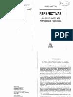 629-Vasconi, Rubén - Perspectivas. Una Introducción a La Antropología Filosófica