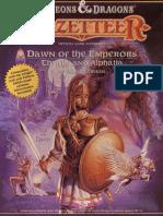 D&D Gazetteer Dawn of the Emperors - Thyatis and Alphatia