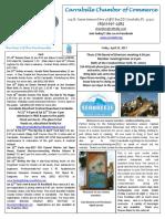 Carrabelle Chamber of Commerce E-Newsletter for April 14th