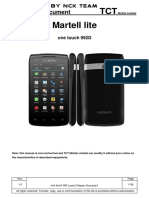 Alcatel One Touch-992D L2 Service Manual