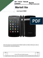 Alcatel One Touch-992D L2 Service Manual