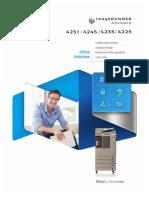imageRUNNER+ADVANCE-4200-Brochure
