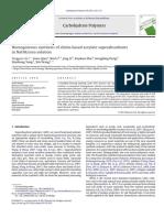 Carbohydrate Polymers Volume 94 Issue 1 2013 [Doi 10.1016_j.carbpol.2013.01.010] Liu, Tingguo; Qian, Liwu; Li, Bin; Li, Jing; Zhu, Kunkun; Deng, -- Homogeneous Synthesis of Chitin-based Acrylate Sup